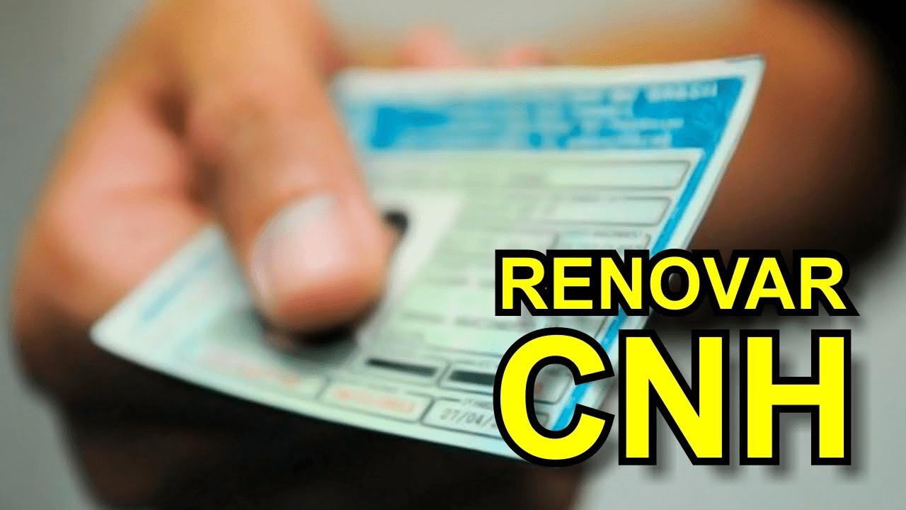 Renovação CNH em João Pessoa - PB